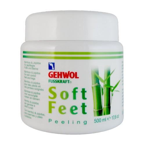 Gehwol Fusskraft soft feet scrub kāju krēms ar bambusa pulveri 125ml