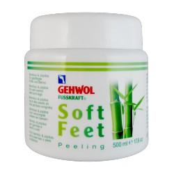 Gehwol Fusskraft soft feet scrub kāju krēms ar bambusa pulveri 500ml