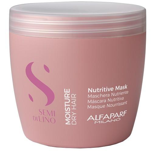 AlfaParf Milano Semi di lino moisture Mitrinoša ļoti sausu matu maska 200ml