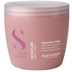 AlfaParf Milano Semi di lino moisture Mitrinoša ļoti sausu matu maska 500ml