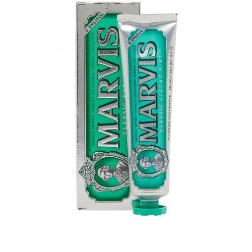 MARVIS Classic strong mint klasiska zobu pasta ar stipru piparmētras garšu 85ml