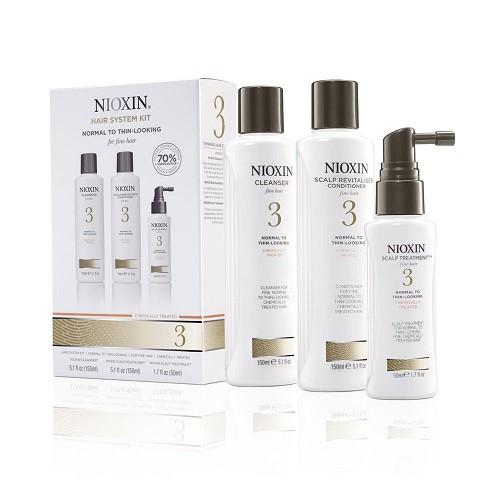 Nioxin Hair System Kit 2 Trīs pakāpju sistēma (150+150+40ml) Normal