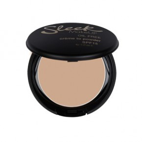 Sleek makeup Creme to powder foundation pūderis (krāsa - oyster) 9g