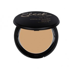 Sleek makeup Creme to powder foundation pūderis (krāsa - white rose) 9g