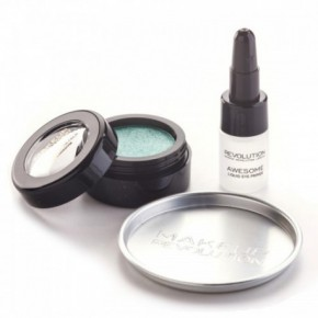 Makeup revolution Awesome metals eye foils acu ēnas (emerald goddess)
