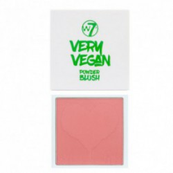 W7 cosmetics W7 very vegan blusher Vaigu sārtums (krāsa - happy honey) 10gHappy Honey