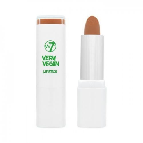W7 cosmetics W7 very vegan lipstick Lūpu krāsa (krāsa - nudes - tranquil tan) 5g