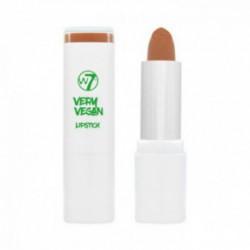 W7 cosmetics W7 very vegan lipstick Lūpu krāsa (krāsa - nudes - tranquil tan) 5gHappy Hazel