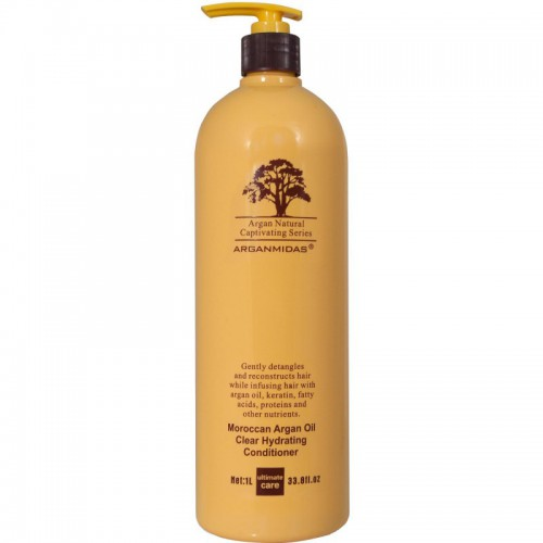 Arganmidas Moroccan argan oil clear hydrating conditioner Matu kondicionieris 450ml