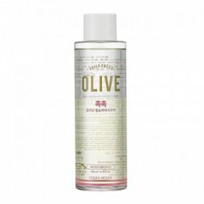 Holika holika Daily fresh olive lip & eye remover kosmētikas noņēmējs 200ml