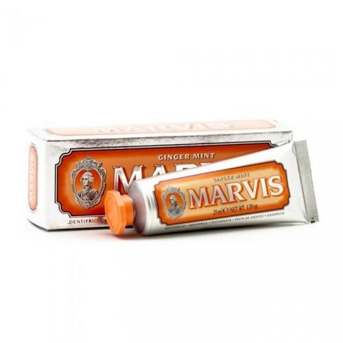 MARVIS Ginger mint zobu pasta ar piparmētras un ingvera garšu 25ml