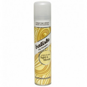 Batiste Dry Shampoo Light & Blonde Sausais matu šampūns blondiem matiem 200ml