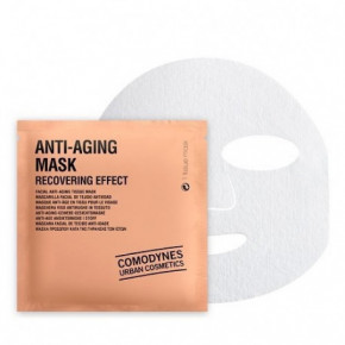 Comodynes Anti - Aging Mask Recovering Effect Atsvaidzinoša pretgrumbu sejas maska 3vnt