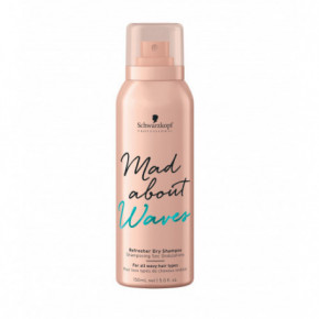 Schwarzkopf Mad About Waves Refresher Dry Shampoo Sausais šampūns 150ml