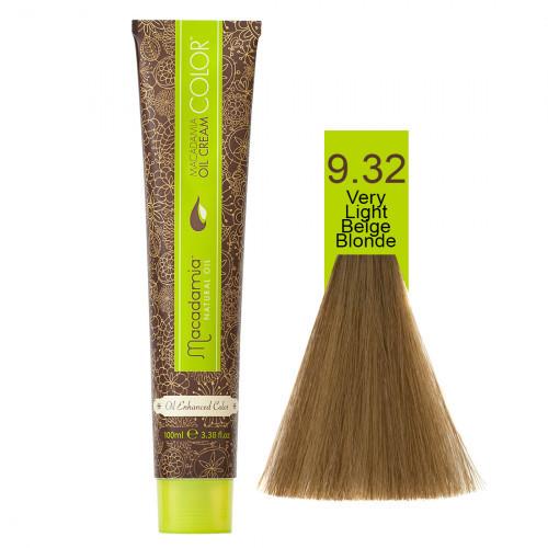 Macadamia Oil Cream Krēmveida matu krāsa 100ml