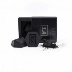 SOLIDU PURITY Ogļu ziepes ar tējas koka eļļu