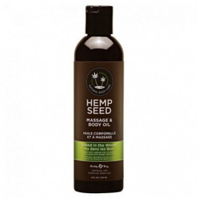 Marrakesh Hemp Seed Naked in the Woods Masāžas eļļa ķermenim 237ml