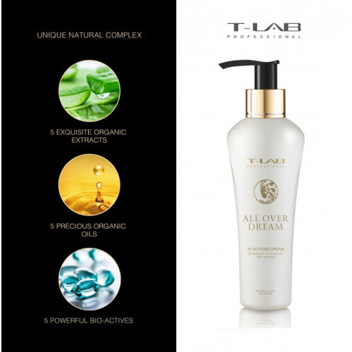 T-LAB Professional All Over Dream Daudzfunkcionāls matu krēms 150ml