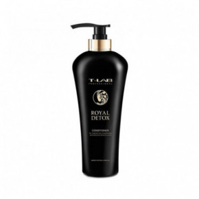 T-LAB Professional Royal Detox Conditioner Kondicionieris matu gludumam un absolūtai detoksikācijai 750ml