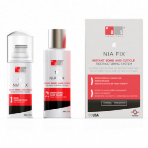 DS Laboratories NIA Fix Instant Bond and Cuticle Restructuring System Matu atjaunošanas sistēma 100ml+50ml