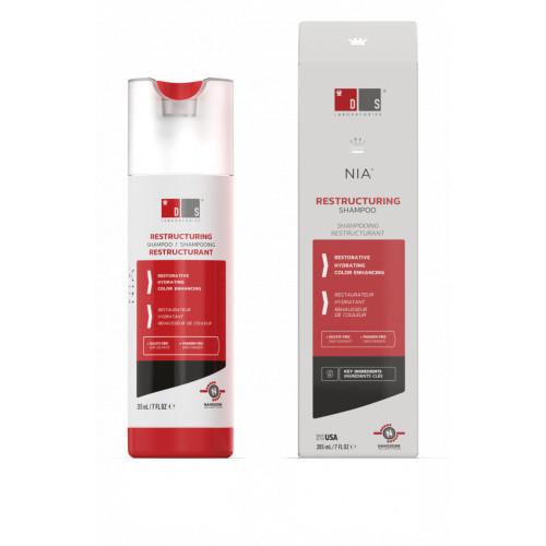 DS Laboratories NIA Mitrinošs, krāsu atsvaidzinošs šampūns 205ml