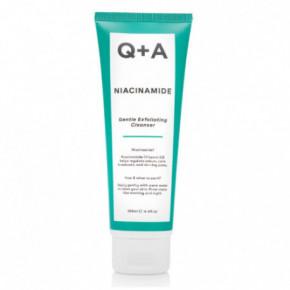 Q+A Niacinamide Gentle Exfoliating Cleanser Maigs pīlinga tīrīšanas līdzeklis 125ml