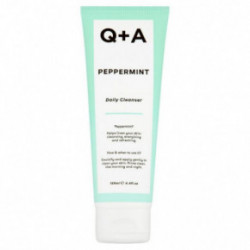 Q+A Peppermint Daily Cleanser Sejas mazgāšanas līdzeklis 125ml