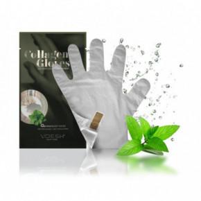 VOESH Collagen Gloves Peppermint Fito-kolagēna maska-cimdi rokām 1 pair