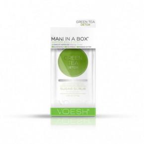 VOESH Waterless Mani In A Box 3in1 Green Tea Detox Komplekts rokām Set
