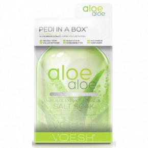 VOESH Ultimate 6 Steps Pedi In A Box 6in1 Aloe Aloe Komplekts pēdām Set