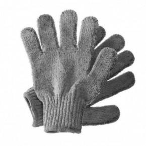 Hydrea London Carbonized Bamboo Exfoliating Gloves Bambusa pīlinga cimdi 1 pair