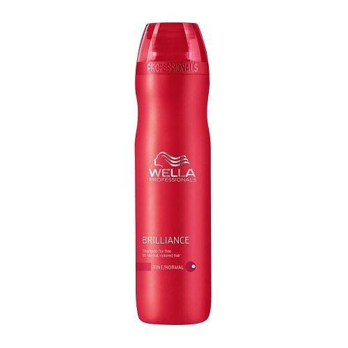 Wella Brilliance Fine Šampūns normāliem, smalkiem un krāsotiem matiem 1000ml